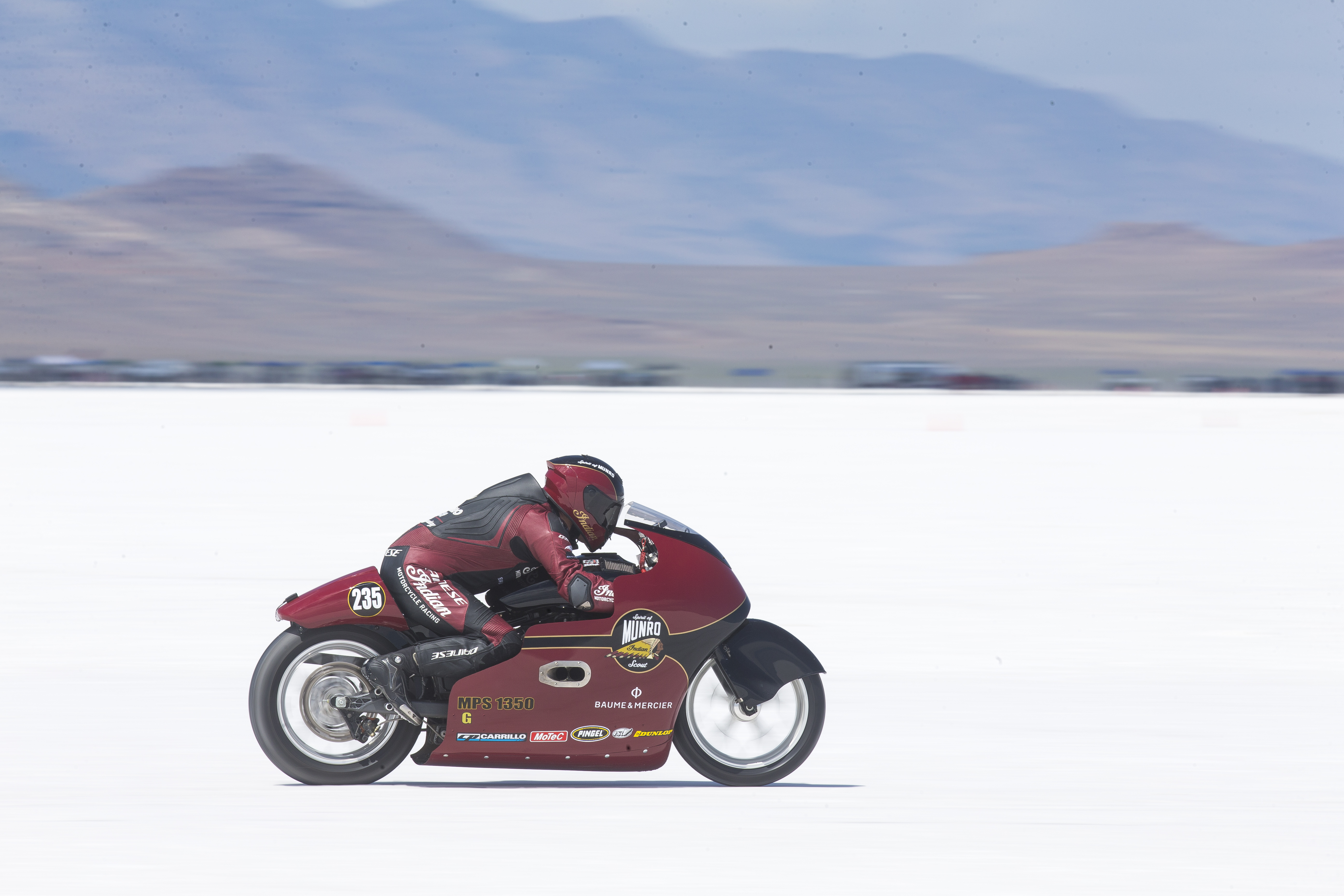 INDIAN MOTORCYCLE CELEBRATES BURT MUNRO'S LEGACY