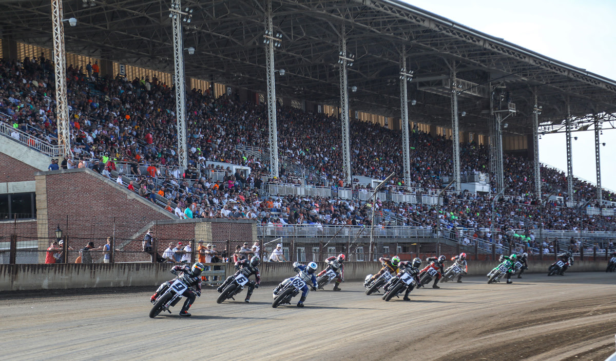 Jared Mees Upsets Bryan Smith at the Harley-Davidson Springfield Mile II