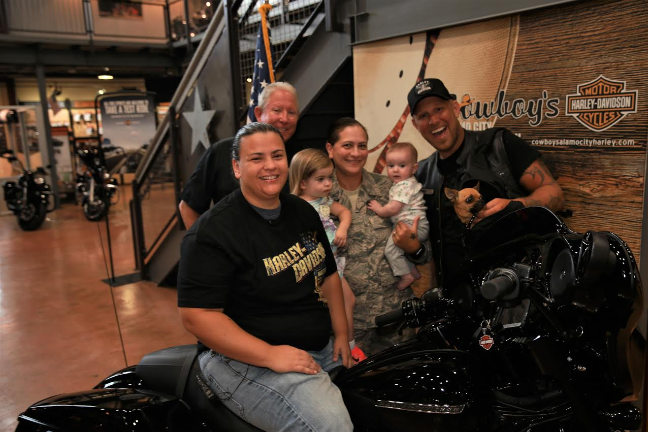 RETIRED AIR FORCE MEDIC SURPRISED WITH GIFT OF NEW HARLEY-DAVIDSON
