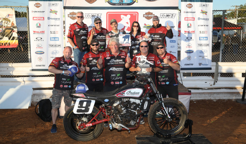 SEPTEMBER 03, 2017 - American Flat Track at Williams Grove Speedway in Mechanicsburg, PA.
