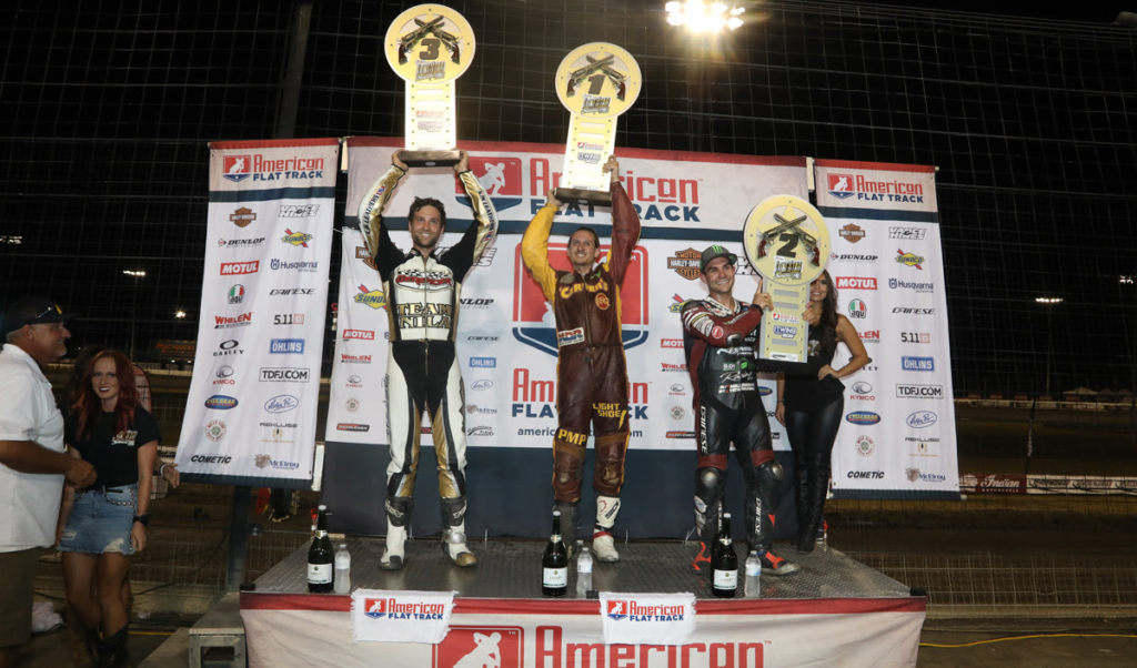 Photo credit American Flat Track/Scott Hunter
