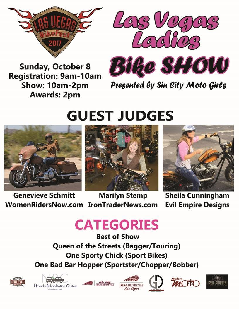Las Vegas Ladies Bike Show Debuts at Las Vegas BikeFest