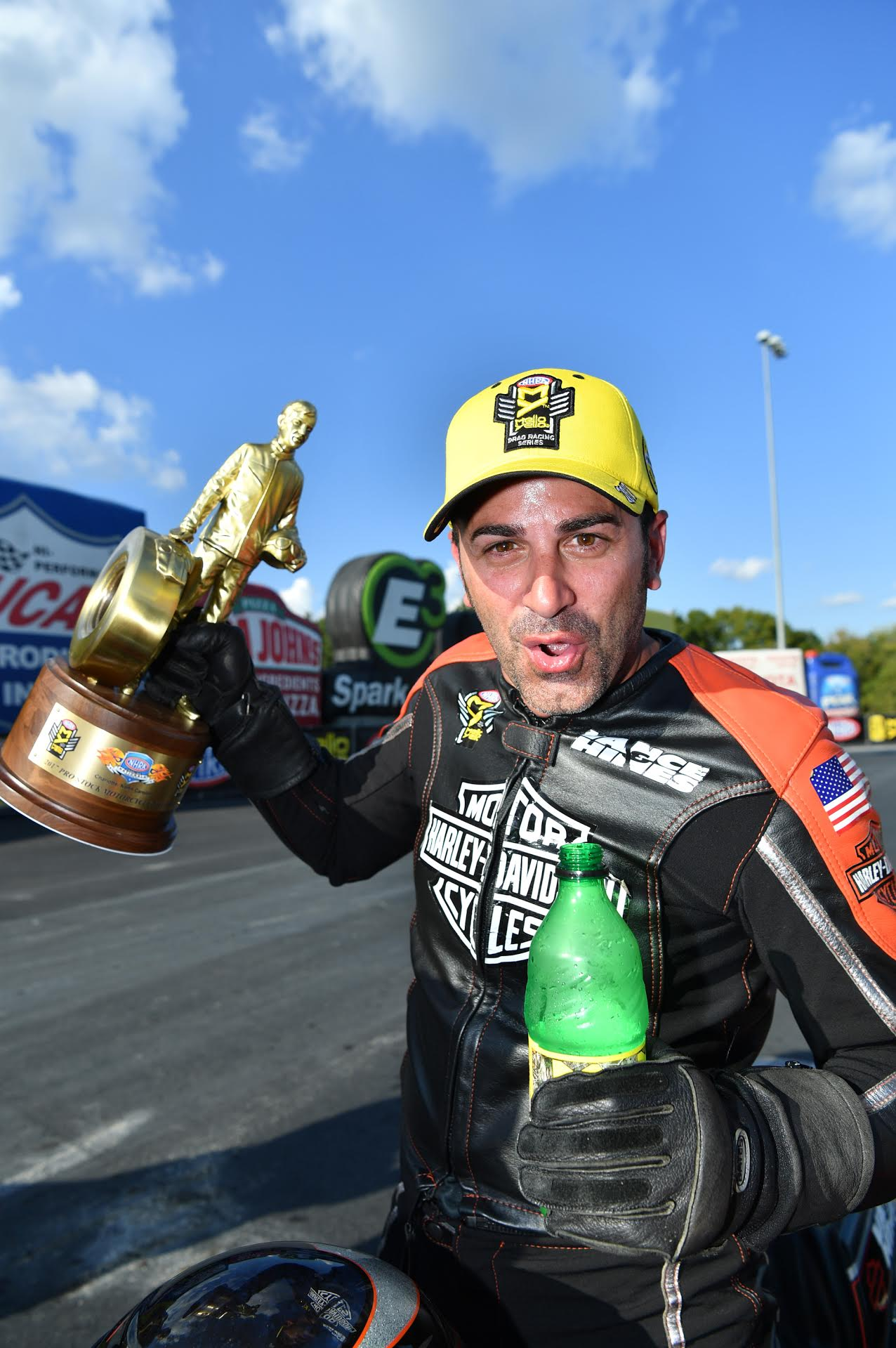 KRAWIEC WINS ALL-HARLEY STREET ROD NHRA FINAL AT CHARLOTTE