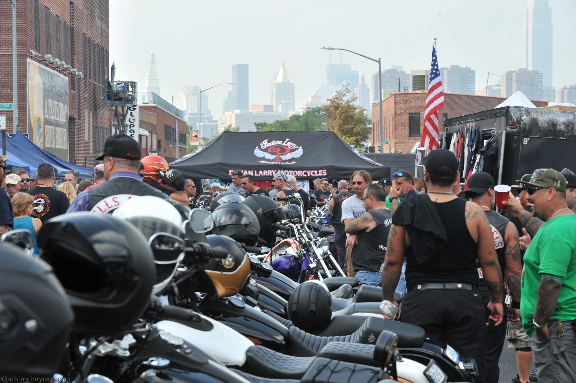THE INDIAN LARRY MOTORCYCLES GREASE MONKEY BLOCK PARTY 2017