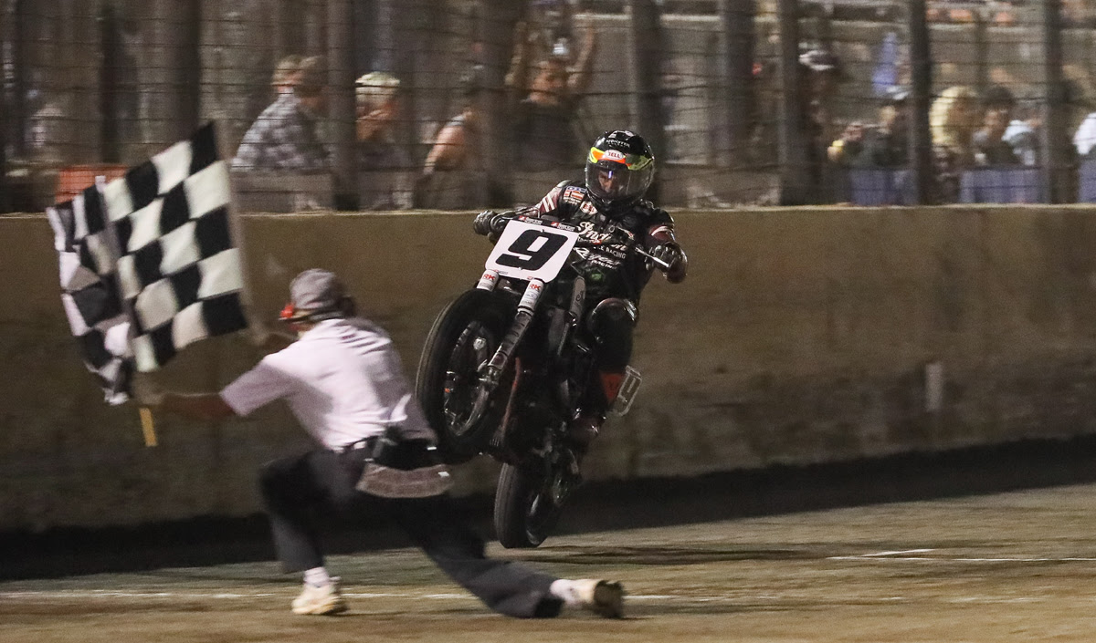 Jared Mees ends season on top at the Cycle Gear American Flat Track Finals presented by Indian Motorcycle