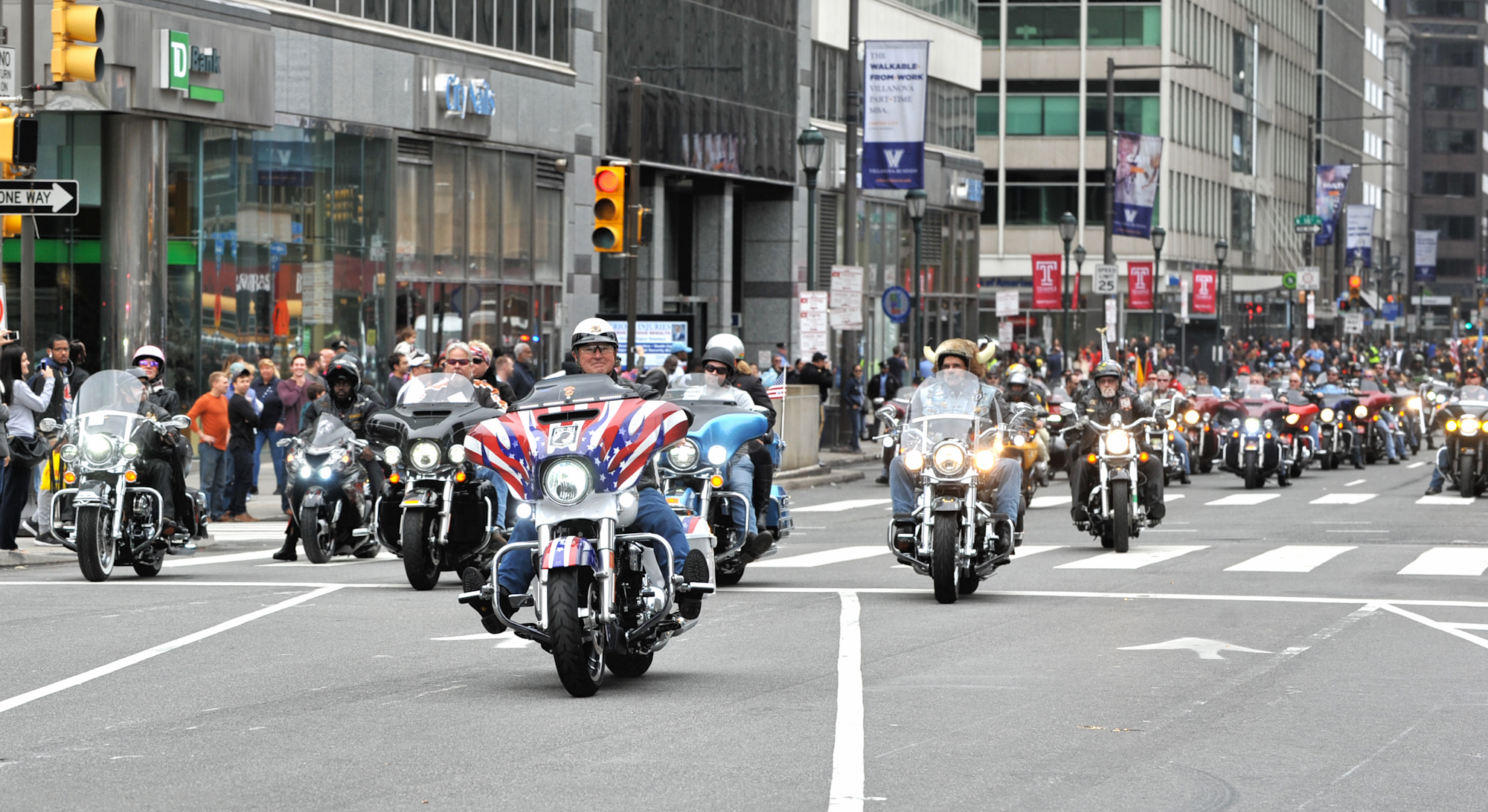 THE 2017 PHILADELPHIA VETERANS DAY PARADE