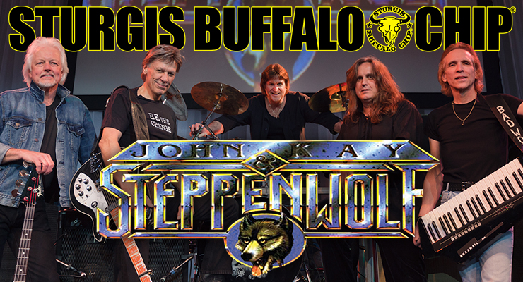 John Kay and Steppenwolf Bring Heavy Metal Thunder to the Sturgis Buffalo Chip®