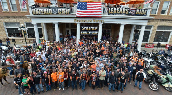 Hollywood and Motorcycle Celebrities Helped Raise Charity Funds at Buffalo Chip®'s 10th Anniversary Legends Ride®
