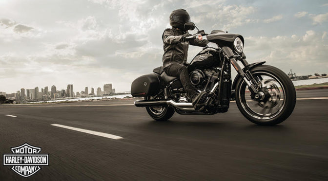 NEW HARLEY-DAVIDSON SPORT GLIDE MELDS STREET-CARVING AGILITY WITH LONG-HAUL CAPABILTY
