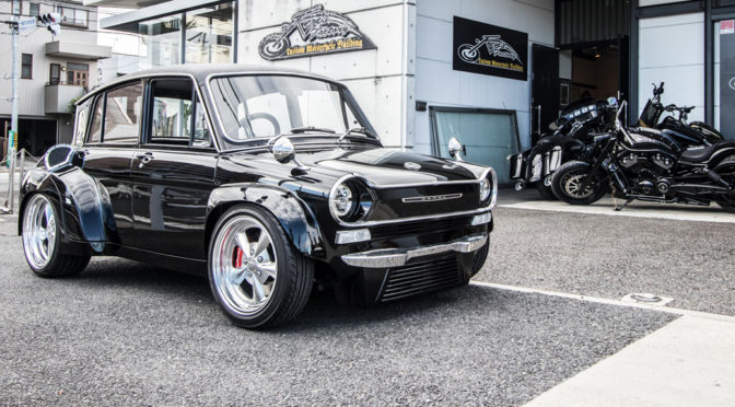Ken's Factory: A Big Twin Powered 1960's Kei Car