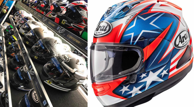 James 'The Rocket' Rispoli brings Arai Americas and personal sponsorMyDigitalListing.com together