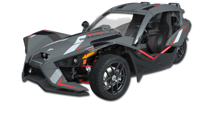 SLINGSHOT® INTRODUCES THE ULTIMATE IN COMFORT, STYLE & TECHNOLOGY WITH NEW GRAND TOURING LE
