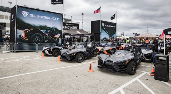 SLINGSHOT® ROLLS INTO DAYTONA FOR THE 77TH ANNUAL BIKE WEEK