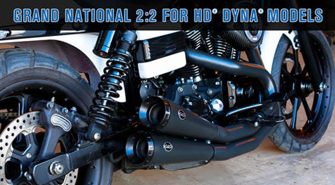 S&S Cycle's Grand National 2:2 for HD® Dyna®Models