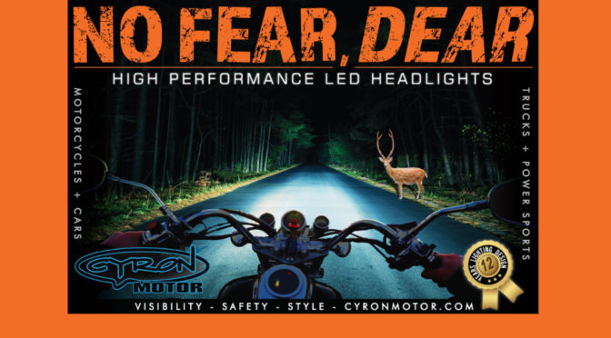 Cyron Motor – New products, new POP displays, and new staff