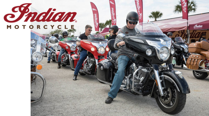 INDIAN MOTORCYCLE STORMS DAYTONA BIKE WEEK WITH DEMOS, DISPLAYS, CUSTOMS BUILDS & EXCLUSIVE EVENTS