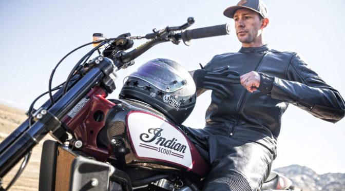 "Travis Pastrana to jump an Indian Scout FTR750 in HISTORY's ""EVEL LIVE"" premiering Sunday 8 July at 8pm ET/5pm PT"