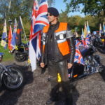 17 Me among the flags from all Briton regiments