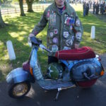 32 the reverend and his amazing scooter in Mod style