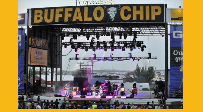 THE HOUSE WAS A ROCKIN' LAST NIGHT AT THE BUFFALO CHIP, STURGIS 2018