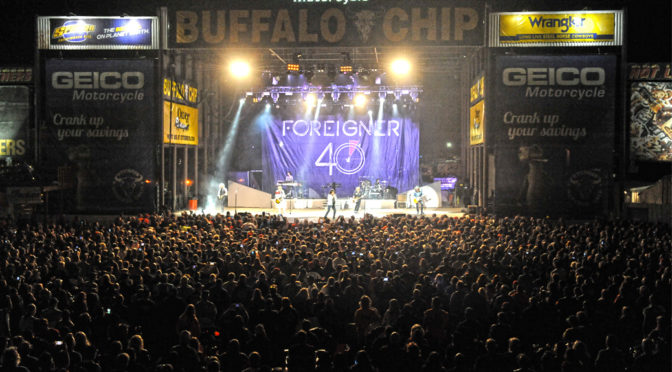 FOREIGNER AT THE BUFFALO CHIP, THEY ROCKED THE HOUSE DOWN!