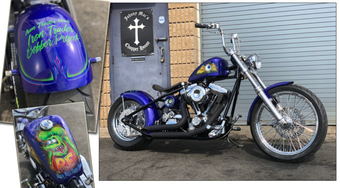 "THE IRON TRADER NEWS ""BOBBER PROJECT"" IS COMPLETE"