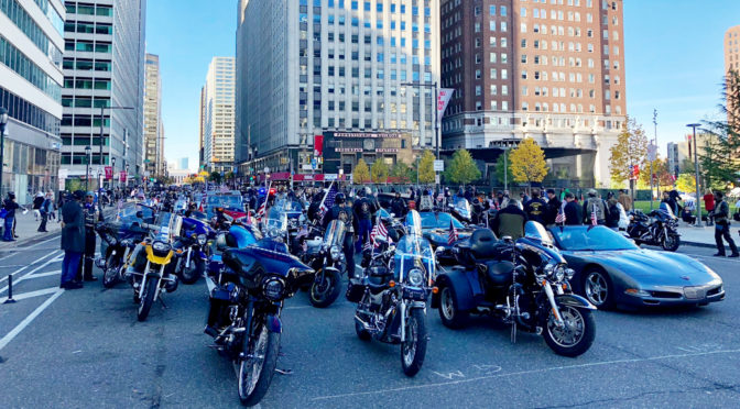 THE 2018 PHILADELPHIA VETERANS DAY PARADE