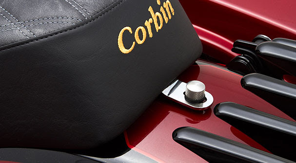 Corbin New Product Announcement – Widowmaker Saddle for 2009 – 2019 H-D Touring Models now available with driver's backrest