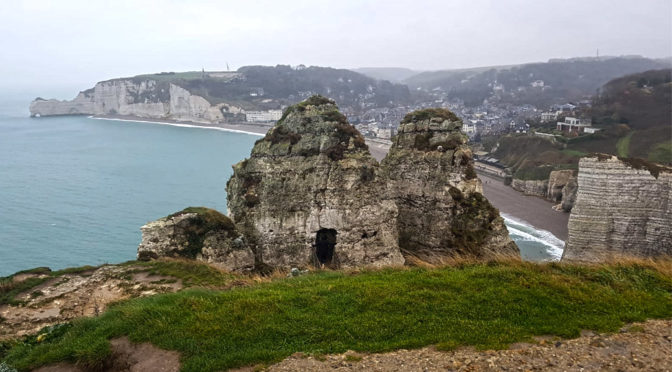 DECEMBER RIDE TO THE CLIFFS OF ETRETAT