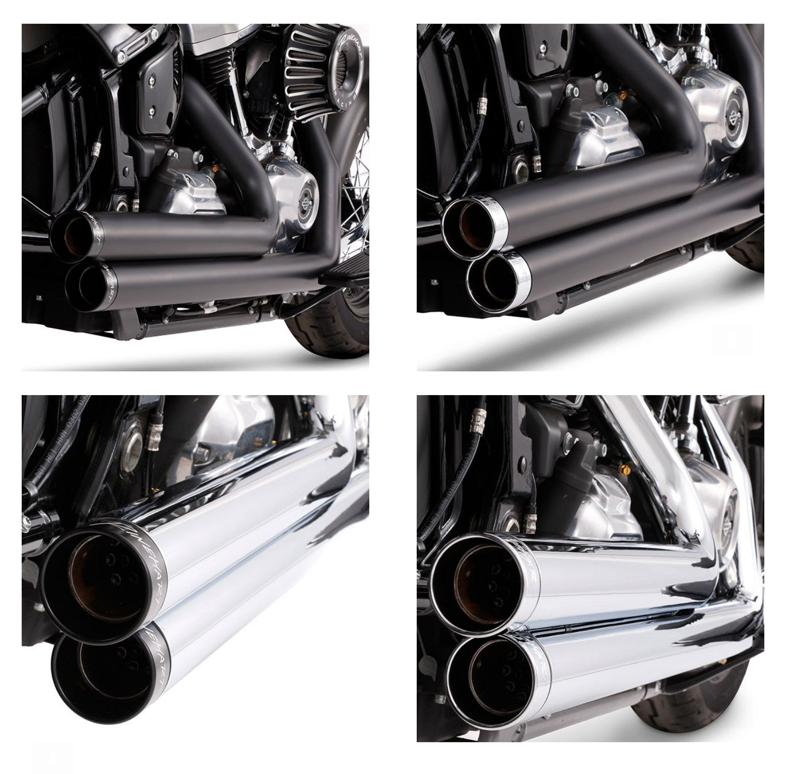 Rinehart Racing Expands 2-Into-2 Exhaust Lineup to Harley