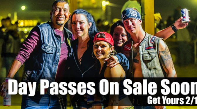 ACT NOW, BUFFALO CHIP DAY PASSES GO ON SALE 2/12!