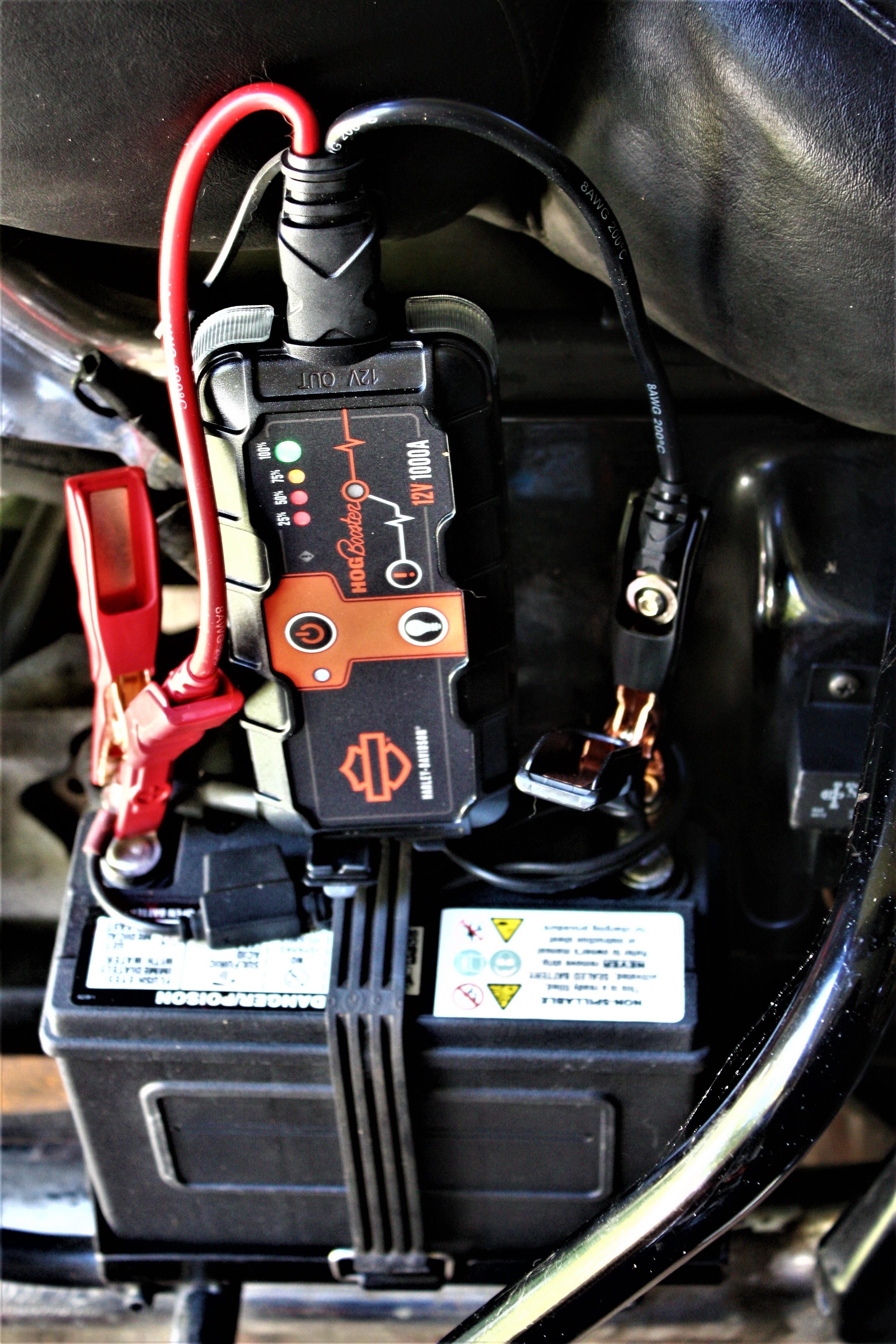 Harley Davidson Hog Booster Portable Battery Pack