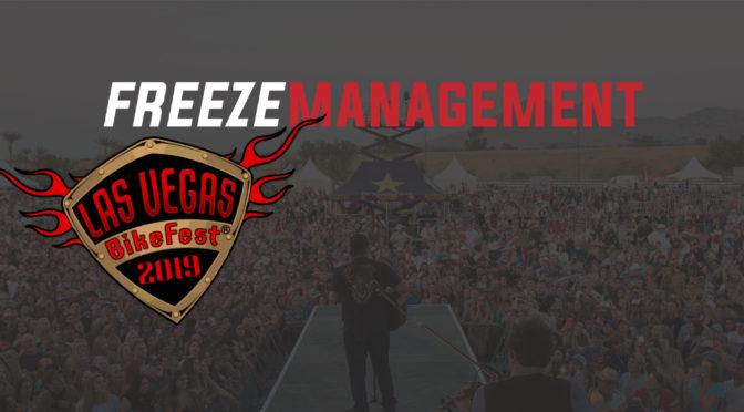 Vegas BikeFest Partners with Freeze Management
