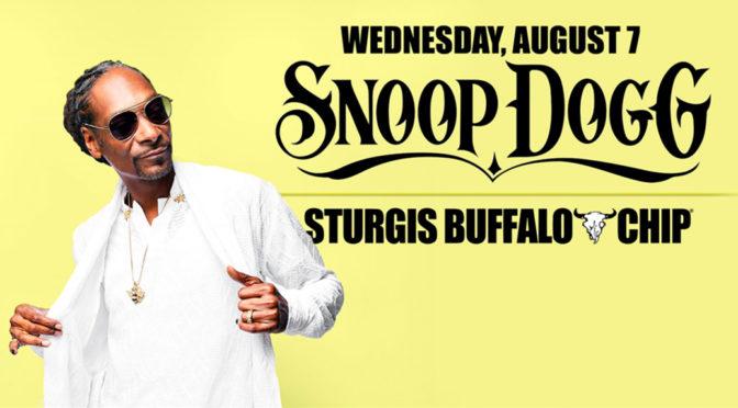 NO JOKE!  Snoop Dogg at the Sturgis Buffalo Chip® August 7, 2019