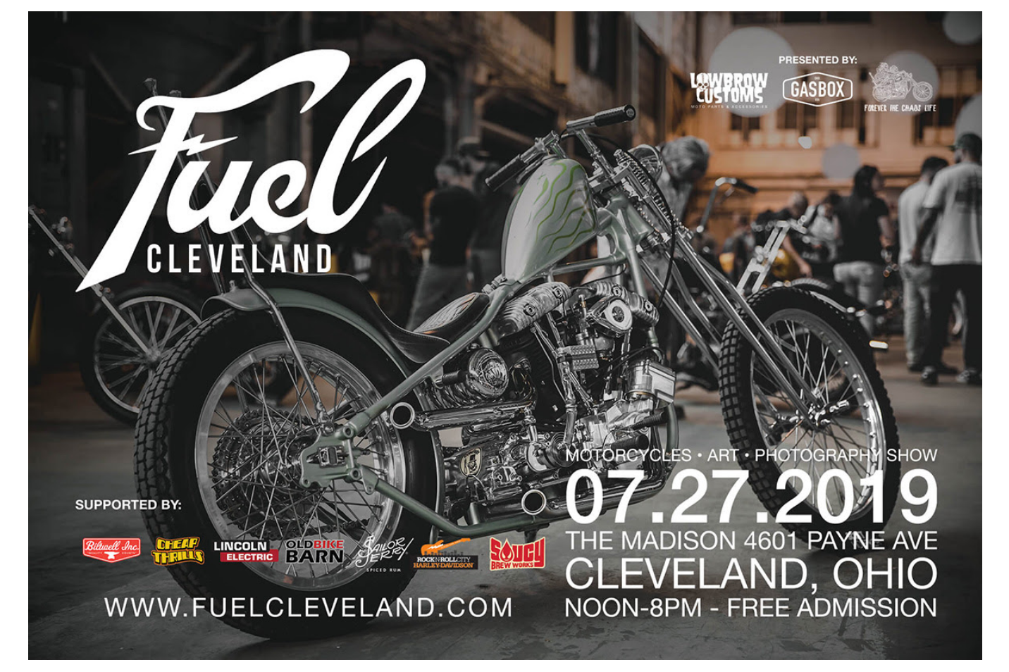 Join us in spreading the word about Fuel Cleveland |