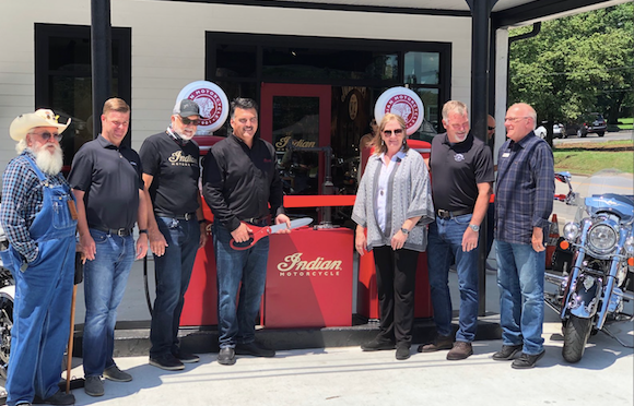 "Indian Motorcycle Opens Heritage-Filled ""Lynchburg Garage"""