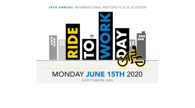 RIDE TO WORK DAY 2020