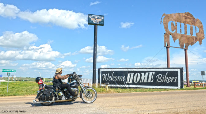 THE BUFFALO CHIP WELCOMES BIKERS BACK HOME