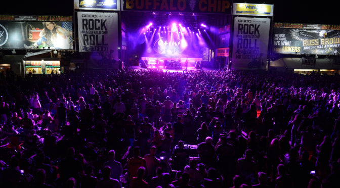 STURGIS 2019 AT THE BUFFALO CHIP, THE BEST PARTY ANYWHERE