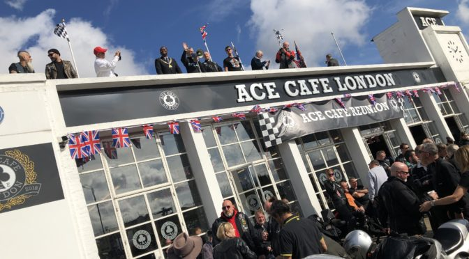 SEPTEMBER RIDE TO THE ACE CAFÉ , LONDON