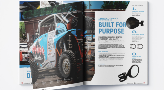 Klock Werks First Off-Road Catalog is Built for Purpose