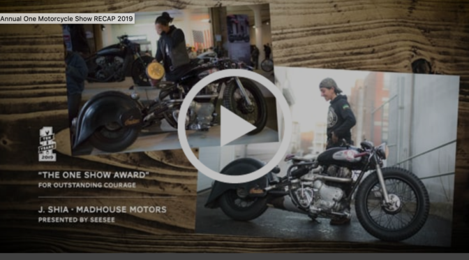 Updates from See See & The One Moto Show
