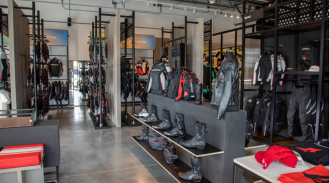 As Motorcycle Dealerships Across the USA Close Up Shop, Dainese Doubles Down with Their 8th Location In Vegas