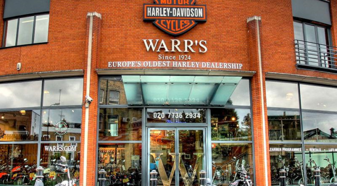 RIDE IN LONDON AND VISIT THE EUROPE'S OLDEST HARLEY DAVIDSON DEALERSHIP