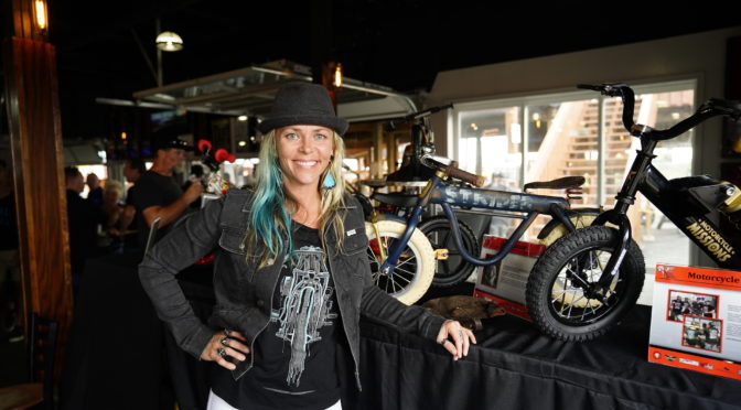 Jessi Combs' Tiny Strider Custom Steals the Show at Mecum Las Vegas