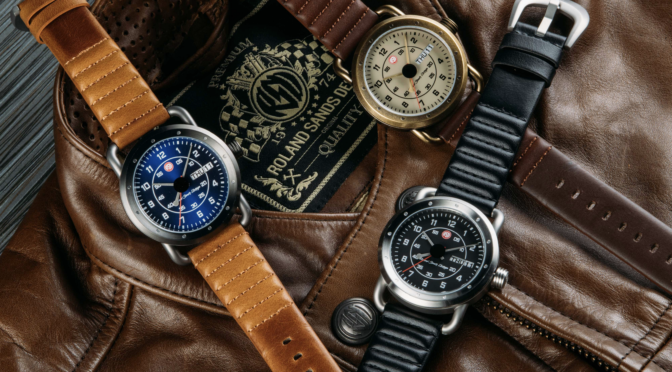 New ICON Signature Series Watch Inspired by Motorcycle Legend, Roland Sands