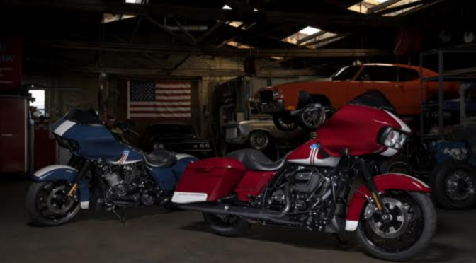 HARLEY-DAVIDSON DEBUTS SPECIAL EDITION TWO-TONE PAINT OPTION FOR ROAD GLIDE® SPECIAL MODELS